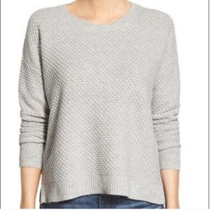 Madewell Knit Sweater with Side Zippers Small